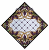 Meyda Tiffany (67144) 25.5 Inch Width X 25.5 Inch Height Jeweled Grape Stained Glass Window