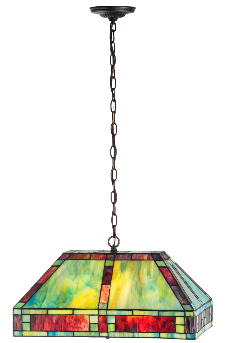 Meyda Tiffany 82832 20 Inch Length Chaves Oblong Pendant
