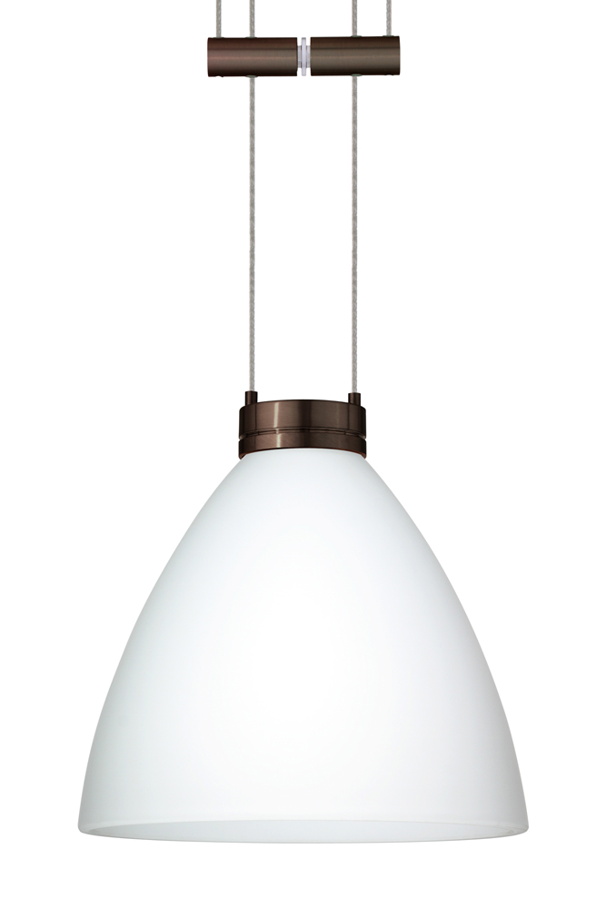 in bronze with opal matte glass shade by besa lighting 1xa 177907 br