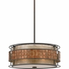 Mica- Contemporary Style Mica Pendant In Renaissance Copper Finish From Quoizel Lighting- MC842CRC