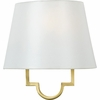 Millennium- Contemporary Style Millennium Wall Fixture In Gallery Gold Finish From Quoizel Lighting- LSM8801GY