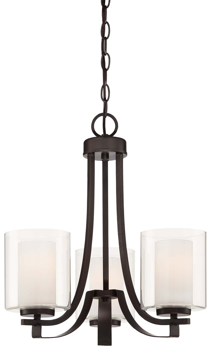 Minka Lavery (4103-172) Parsons Studio 3 Light Chandelier