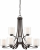 Minka Lavery (4109-172) Parsons Studio 9 Light Chandelier