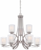 Minka Lavery (4109-84) Parsons Studio 9 Light Chandelier