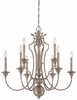 Minka Lavery (4866-279) Wellington Ave. 6 Light Chandelier
