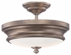 Minka Lavery (4867-279) Wellington Ave. 13 Inch Semi-Flush Mount