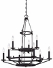 Minka Lavery (4979-269) Kingsgate 9 Light Chandelier