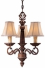 Minka Lavery (943-126) Belcaro 3 Light Mini-Chandelier