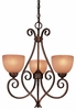 Minka Lavery (723-355) Caspian 3 Light Chandelier