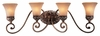 Minka Lavery (5554-477) Salon Grand 4 Light Bath Vanity Fixture