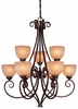 Minka Lavery (729-355) Caspian 9 Light Chandelier