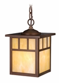 "Vaxcel Lighitng (OD37276) Mission 7"" Outdoor Pendant"