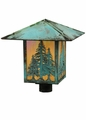 Tropical Outdoor Post Lights