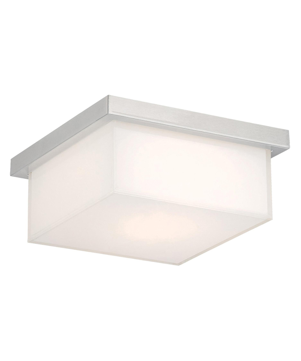 Modern Forms (FM-1410) Ledge 8 Inch LED Flush Mount