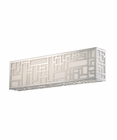 Modern Forms (WS-3019) Maze 19 Inch LED Vanity/Sconce Luminaire