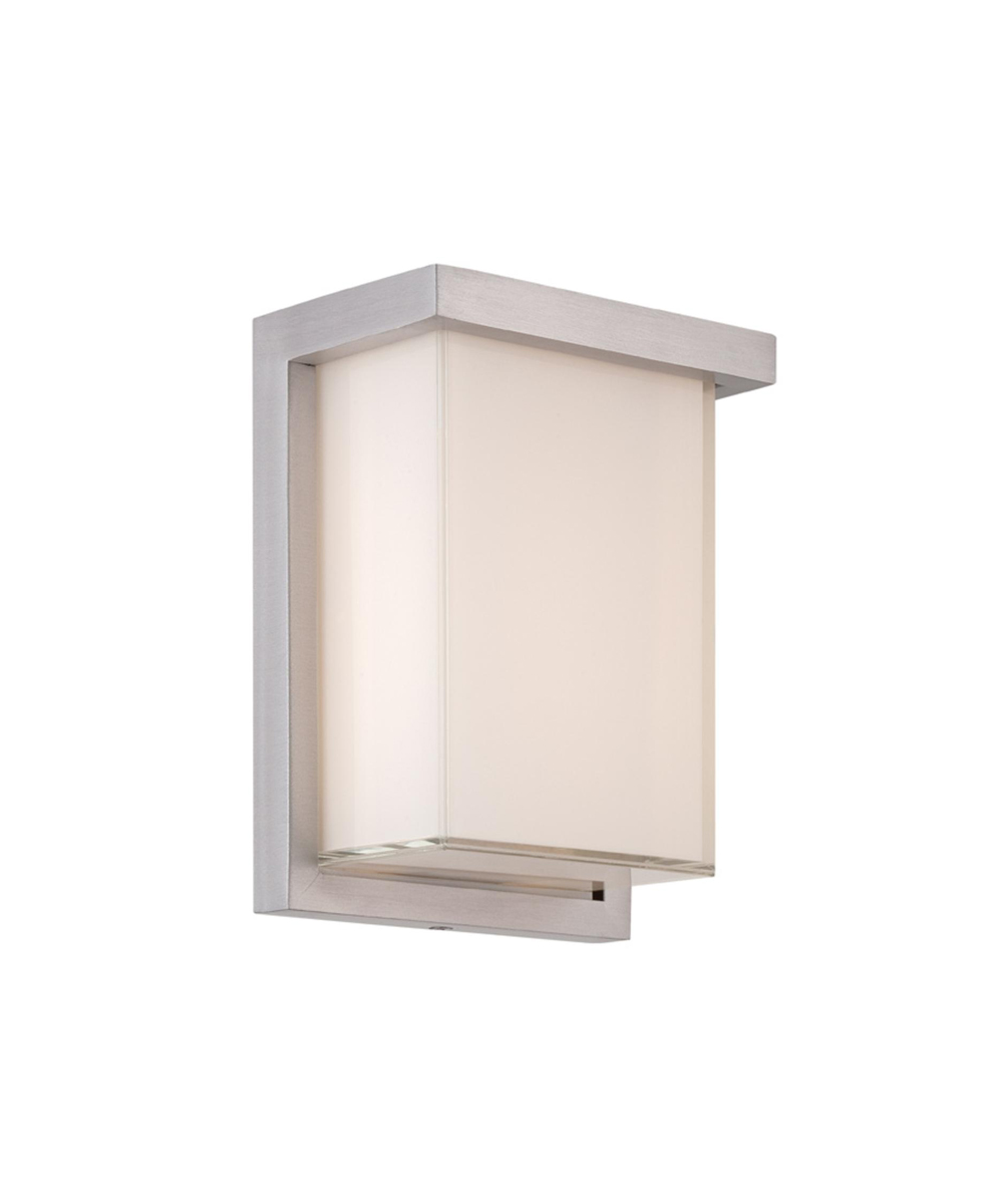 Modern Forms (WS-W1408) Ledge 8 Inch LED Outdoor Sconce Luminaire