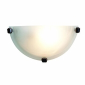 Mona Wall Sconce shown in Oil-Rubbed Bronze by Access Lighting