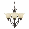 Murray Feiss (F2047) Morningside 3 Light Mini-Chandelier