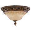 Murray Feiss Lighting (FM253ATS) Sonoma Valley 2 Light Indoor Flush Mount shown in Aged Tortoise Shell Finish