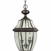 Newbury- Americana Style Newbury Outdoor Fixture In Aged Copper Finish From Quoizel Lighting- NY1178AC