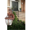 Newbury- Americana Style Newbury Outdoor Fixture In Aged Copper Finish From Quoizel Lighting- NY8315AC