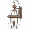 Newbury- Americana Style Newbury Outdoor Fixture In Aged Copper Finish From Quoizel Lighting- NY8317AC