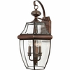 Newbury- Americana Style Newbury Outdoor Fixture In Aged Copper Finish From Quoizel Lighting- NY8318AC