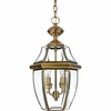 Newbury- Americana Style Newbury Outdoor Fixture In Antique Brass Finish From Quoizel Lighting- NY1178A