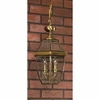 Newbury- Americana Style Newbury Outdoor Fixture In Antique Brass Finish From Quoizel Lighting- NY1179A