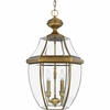 Newbury- Americana Style Newbury Outdoor Fixture In Antique Brass Finish From Quoizel Lighting- NY1180A