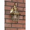 Newbury- Americana Style Newbury Outdoor Fixture In Antique Brass Finish From Quoizel Lighting- NY8316A