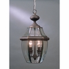 Newbury- Americana Style Newbury Outdoor Fixture In Medici Bronze Finish From Quoizel Lighting- NY1178Z