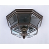 Newbury- Americana Style Newbury Outdoor Fixture In Medici Bronze Finish From Quoizel Lighting- NY1794Z
