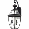 Newbury- Americana Style Newbury Outdoor Fixture In Medici Bronze Finish From Quoizel Lighting- NY8317Z
