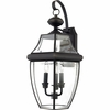 Newbury- Americana Style Newbury Outdoor Fixture In Medici Bronze Finish From Quoizel Lighting- NY8318Z