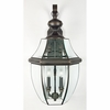 Newbury- Americana Style Newbury Outdoor Fixture In Medici Bronze Finish From Quoizel Lighting- NY8339Z