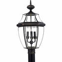 Newbury- Americana Style Newbury Outdoor Fixture In Medici Bronze Finish From Quoizel Lighting- NY9043Z