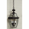 Newbury- Americana Style Newbury Outdoor Fixture In Mystic Black Finish From Quoizel Lighting- NY1179K