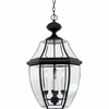 Newbury- Americana Style Newbury Outdoor Fixture In Mystic Black Finish From Quoizel Lighting- NY1180K