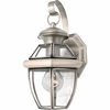 Newbury- Americana Style Newbury Outdoor Fixture In Pewter Finish From Quoizel Lighting- NY8315P