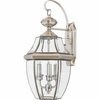 Newbury- Americana Style Newbury Outdoor Fixture In Pewter Finish From Quoizel Lighting- NY8318P