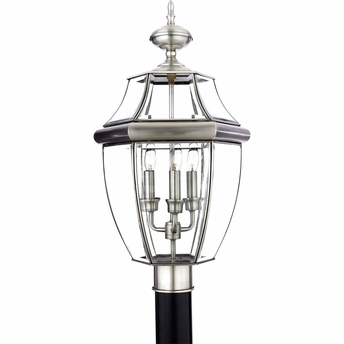 Newbury- Americana Style Newbury Outdoor Fixture In Pewter Finish From Quoizel Lighting- NY9043P