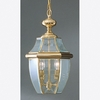 Newbury- Americana Style Newbury Outdoor Fixture In Polished Brass Finish From Quoizel Lighting- NY1178B