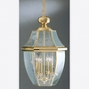 Newbury- Americana Style Newbury Outdoor Fixture In Polished Brass Finish From Quoizel Lighting- NY1180B
