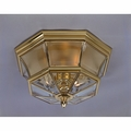 Polished Brass Outdoor Ceiling Lights