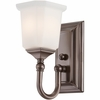 Nicholas- Contemporary Style Nicholas Bath Fixture In Harbor Bronze Finish From Quoizel Lighting- NL8601HO