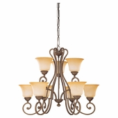 Nine-Light Brandywine Chandelier