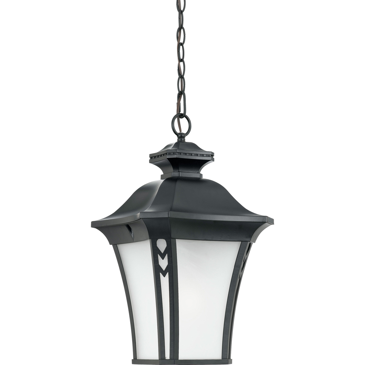 Quoizel Lighting (NF1912K) 1 Light Norfolk Outdoor Hanging Fixture in Mystic Black