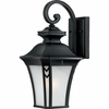 Quoizel Lighting (NF8408K) 1 Light Norfolk Outdoor Wall Sconce in Mystic Black