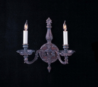 Novella Collection Sconces shown in Bronze Patina by Crystorama Lighting
